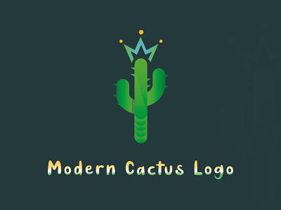 Modern Cactus Logo logo illustration cactus icon business logo cactus for logo art cactus modern cactus modern cactus logo cactus maker stylish logo new stylish logo vactor art cactus art flat logo unique logo best log minimal logo minimalist logo modern logo cactus logo
