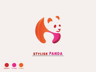 Stylish Panda minimalist logo stylish logo unique logo flat logo panda icon new panda panda vector design panda with vector travel panda panda background color panda color panda style panda stylish panda logo new color panda panda vector panda deshi panda panda logo stylish panda