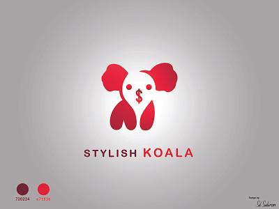 Stylish Koala koala art koala design koalana vector art illustration minimalist logo stylish logo modern logo unique logo flat logo logo koala vector innocent koala sweet koala funny koala mini koala logo koala stylish koala stylish koala logo koala logo koala