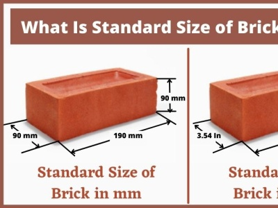 What Is Standard Size of Brick In India standard size of brick in india standard size of brick in india