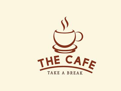 Cafe Logo Design minimal ui product design illustration ill branding logo graphic design