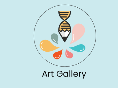 Art Gallery Logo vector ux illustration ui minimal design logo product design graphic design branding