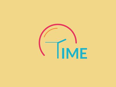 Time Logo Icon minimal ui ux vector design illustration logo product design graphic design branding