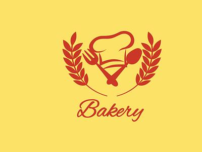Bakery Custom Logo illustration logo ui minimal ux vector design product design graphic design branding