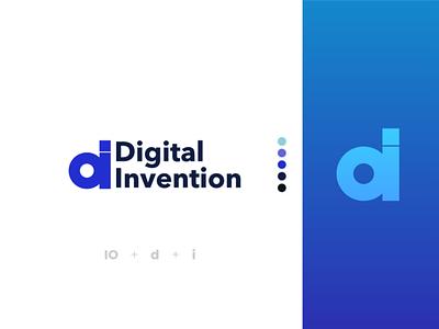 Digital Invention logo digital invention digital challange webdesign daily uidaily dailyui typography ux vector illustration icon design branding logo motion graphics graphic design 3d animation ui