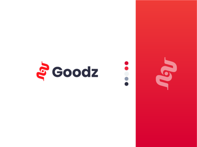 Goodz logo design delivery logo design daily ui ui daily daily uidaily dailyui ux typography vector illustration icon design branding logo motion graphics graphic design 3d animation ui