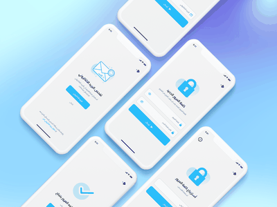 Forget and Recover Password Page mobile forget password forget password daily uidaily dailyui typography ux vector illustration icon design branding logo motion graphics graphic design 3d animation ui