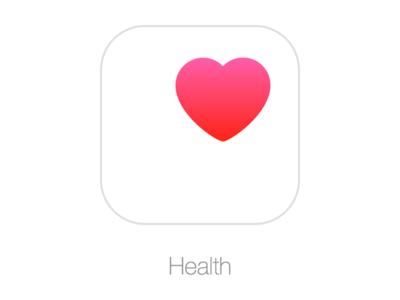 Apple Health ios sketch health