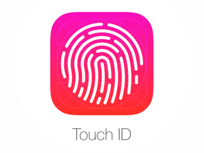 Touch ID Icon - Sketch