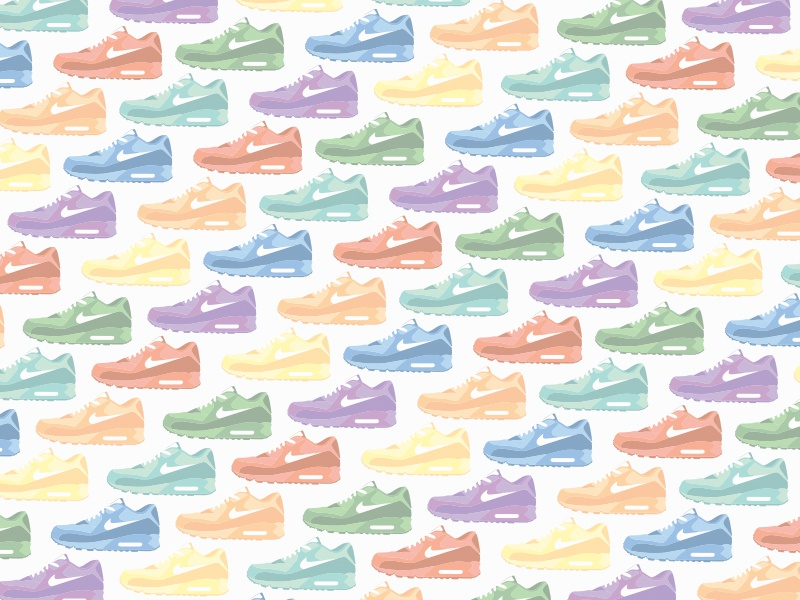 Nike Airmax 90 Pattern nike pattern vector wallpaper free download attachment colors rainbow airmax90 airmax