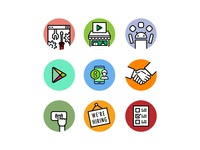 Icons for website