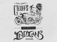 Too many chiefs...