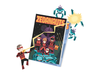 Zeda Labs Comic Book Promo Image