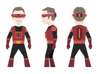 Zenith - Piotr's superhero alter ego