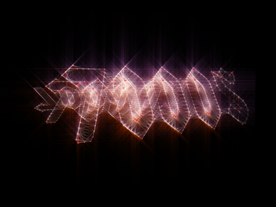 7000$ Logo logo 7000 band rock after effects plexus trapcode shine