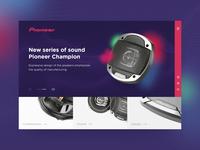 Pioneer acoustics series