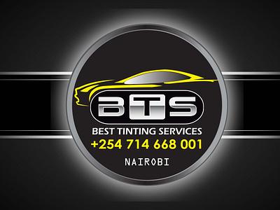 BTS TINTING LOGO icon vector logo designer branding uiux nairobi design logo