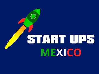 Logo Start-Ups Mexico de Salvador Monroy Rodríguez logo design design