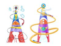 CBeebies Playtime Island : Go Jetters UI