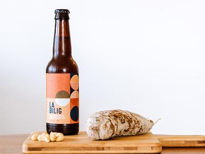 Beer packaging beer branding beer label vector identity illustration soif bzh bretagne bière beer