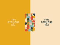 DIY Startup #3 logos vintage colorful startup logo nantes identity handmade game art diy branding