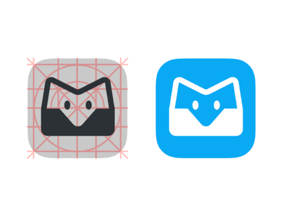 Mailbox tool icon app brand logo icon app