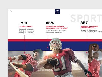 Eurosport basketball baseball search presentation visual design ui sport eurosport