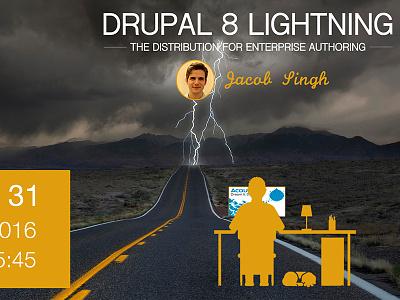 DrupalCon Asia banner speaker