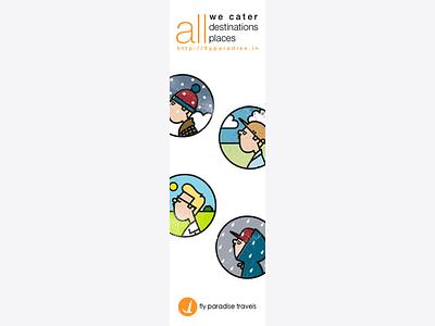 Bookmark travel bookmark