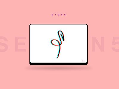 Line Wallpaper bird lineart logo illustration brush minimal