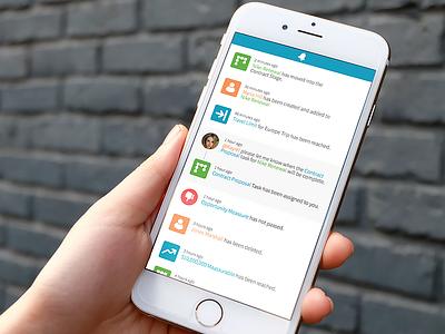 In-App Notifications List app notifications icons ios flat clean minimalist list minimal user