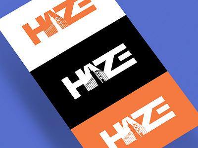 Haze Logo active branding sports flat hockey logo