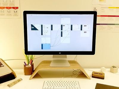 XD Final switch desk workspace app prototype adobexd xd adobe xd