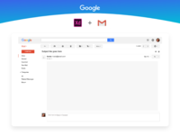 Gmail UI Kit Freebie - AdobeXD