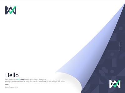 Cover for Branding Guidelines guidelines branding styleguide vector cover book illustration brand