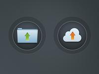 Upload Icons Freebie