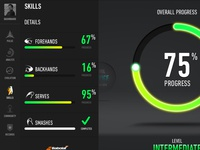 Tennis Skills Overview