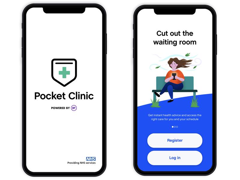 Pocket Clinic App native ui ux health