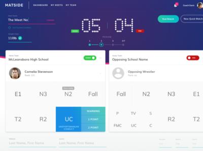 Matside design app ui