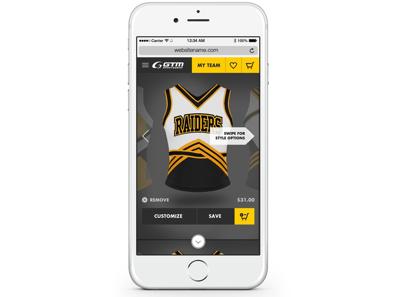 Curated Art Online Customization Web App (GTM) web