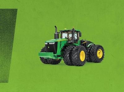 Plains Equipment Branding & Print Strategy - John Deere marketing print design branding agency