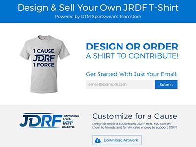 JDRF Round 2 lp proto ui web jdrf