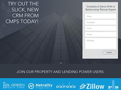 RP Landing Page (Redux) landing page corporate web ui