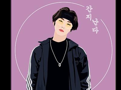 digital art digitalart vectorart illustration modal koreanmodal kpop