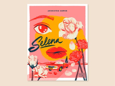 Texas Forever Project — Selena (1997) illustration procreate movie texas forever selena quintanilla selena