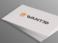 Logo Redesign For 3d printing distributor