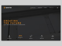 landing page for first 3D printers provider in Lithuania