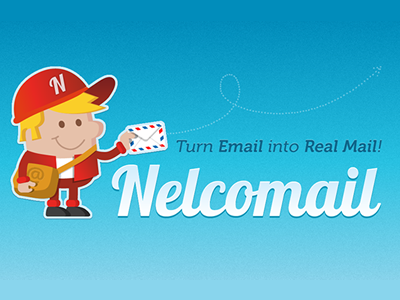Nelcomail branding II branding logo logotype. startup