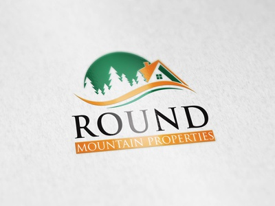 My New Project Contraction Logo Design. branding designer modern property management property developer property marketing property rounded rounded corners round logo treehouse real estate logo building mountain bike mountain logo mountains mountain contracting contraction