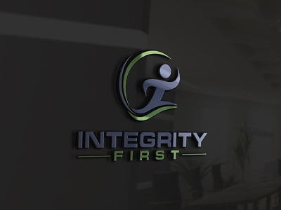 Integrity First 'Delivery Related' LogoDesign interaction design interactive integrations interior interface integral integrated integrity design art design designer running app run cycle running runner delicate delivery service delivery app delicious delivery